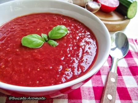 Supă rece de roşii