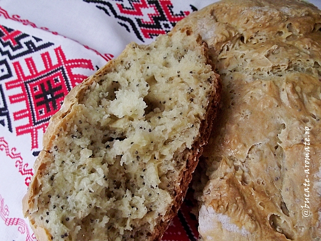 Pâine rapidă cu bicarbonat
