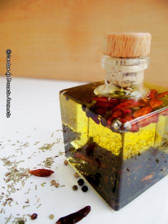 Ulei de măsline aromatizat