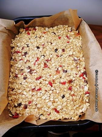 Batoane de cereale cu fructe uscate