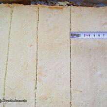 Tort piramidă cu cremă de ciocolată albă şi mascarpone