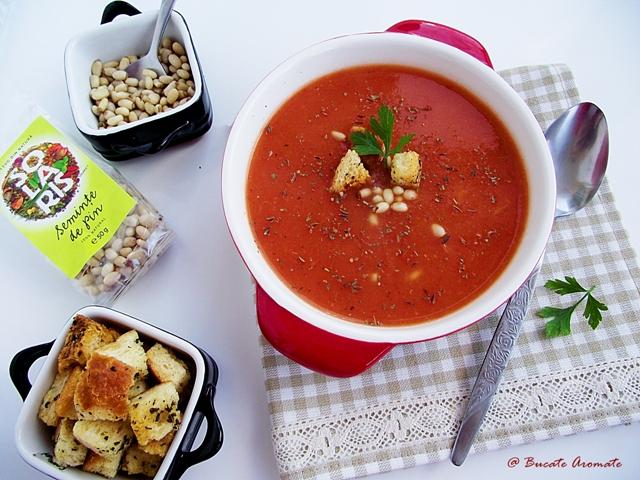 Supă picantă de legume