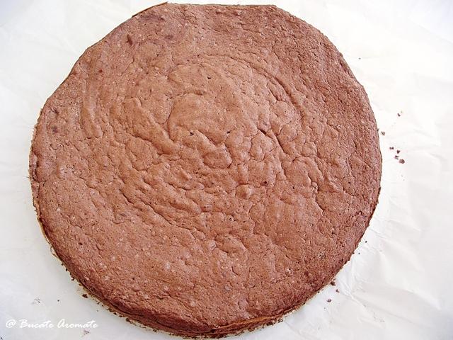 Blat de tort cu cacao si nuci
