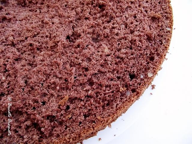 Blat cu cacao pufos - secțiune