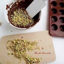 Praline de ciocolata cu fistic