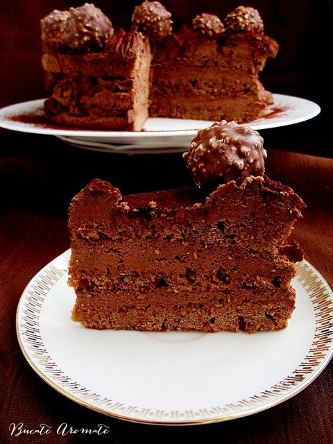 Tort de ciocolata cu whiskey
