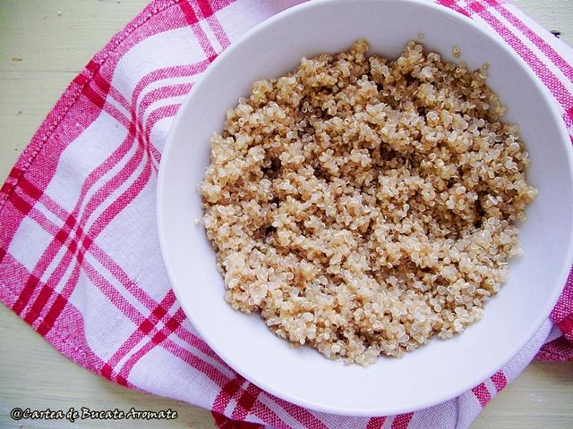 Cum se fierbe quinoa