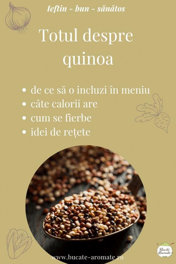 totul despre quinoa