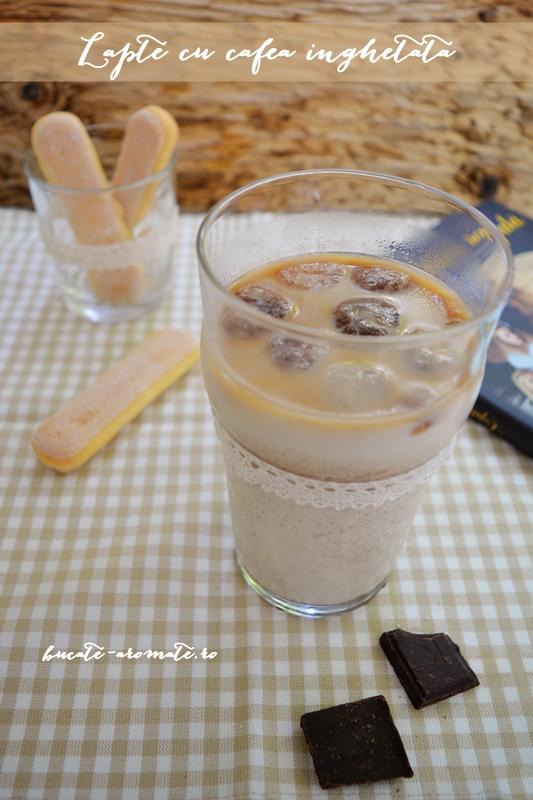 Lapte cu cafea îngheţată