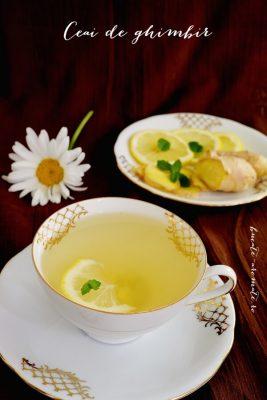 Rețete de băuturi - Ceai de ghimbir