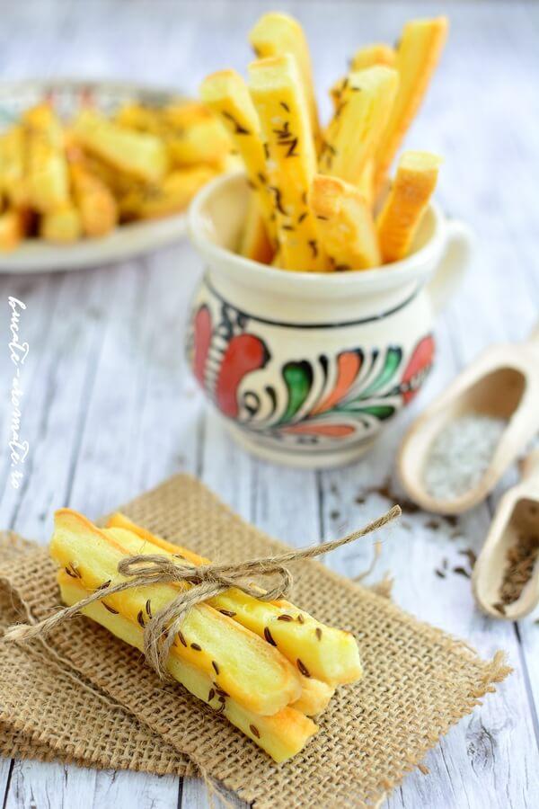 Sărăţele cu brânză şi chimen