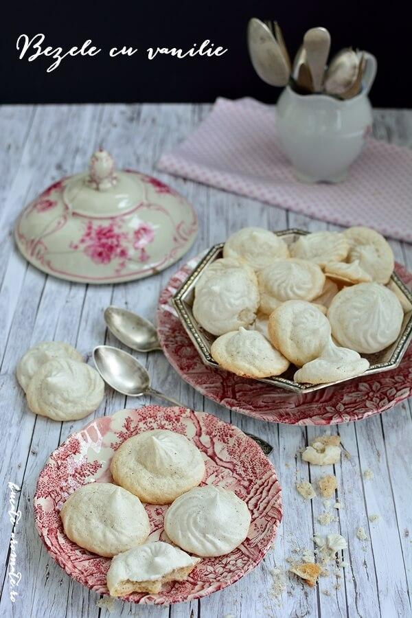 Bezele simple cu vanilie
