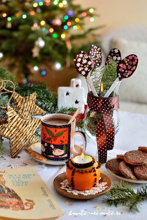 Linguriţe de ciocolată - cadouri, răsfăţuri, decoruri dulci