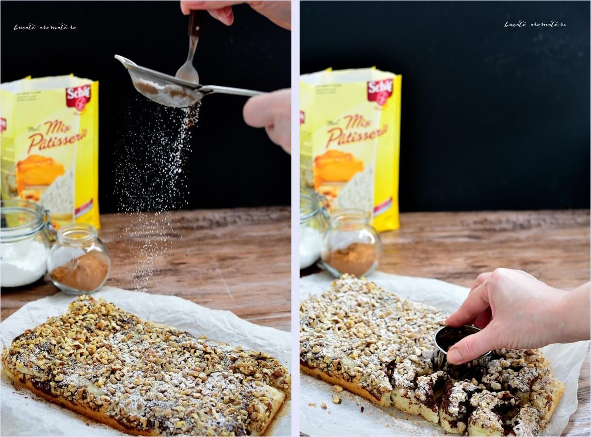 Prăjitura semilună cu nucă