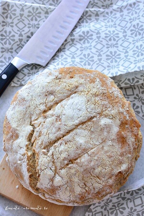 Pâine cu maia rapidă şi seminţe de tot felul
