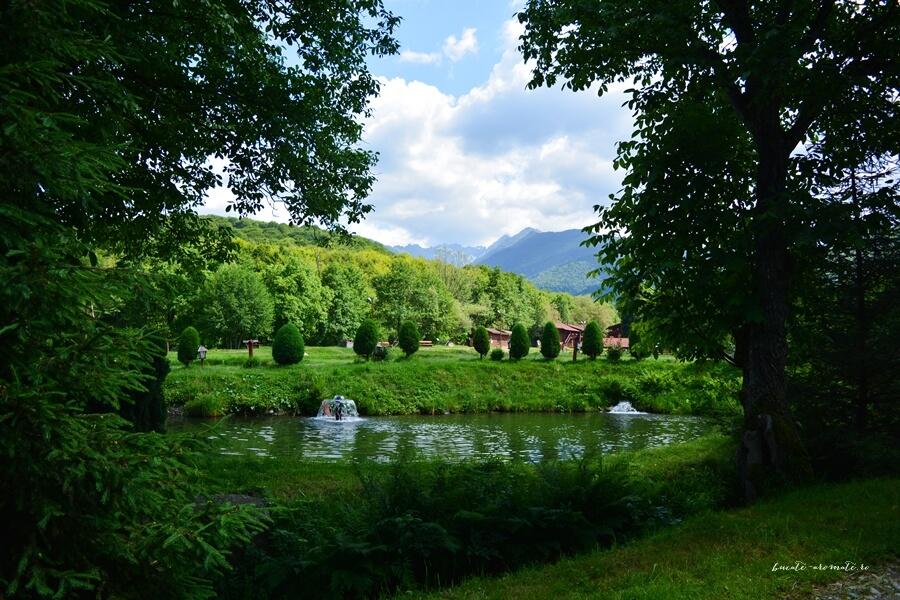 O zi de vară petrecută la Păstrăvăria Albota de lângă Sibiu