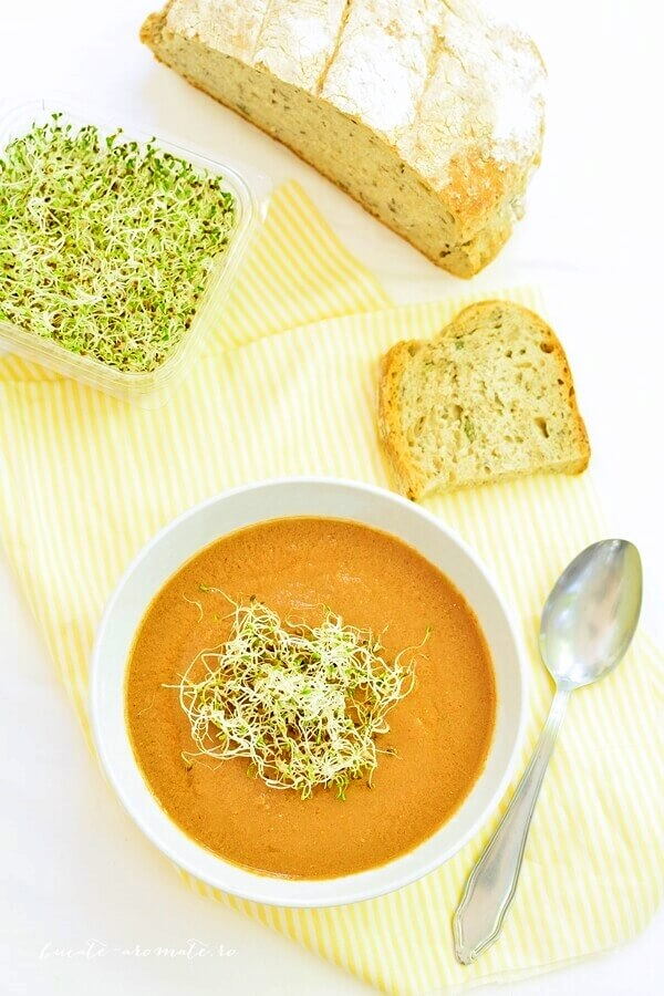Supa crema de peste