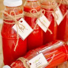 Bulion de roşii cu ardei kapia