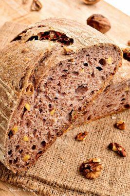 stretch &fold - Pâine integrală cu nuci