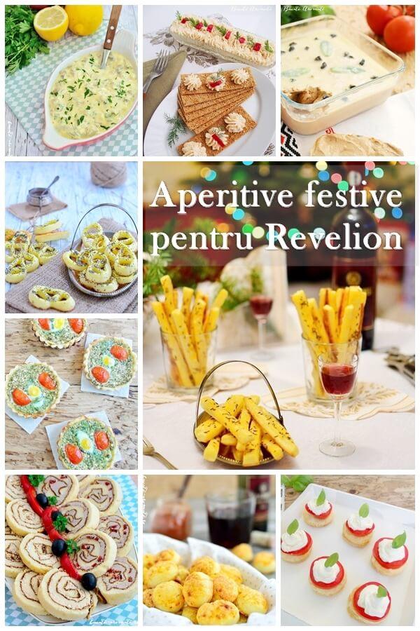 Aperitive festive pentru Revelion