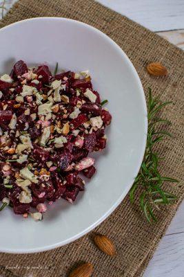 retete dietetice - Salată de sfeclă roșie cu brânză