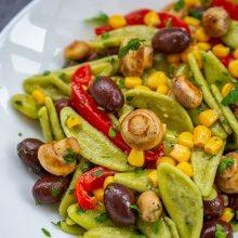 Salata de paste verzi cu legume