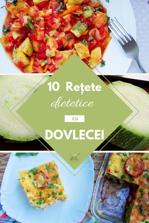 10 retete dietetice cu dovlecei