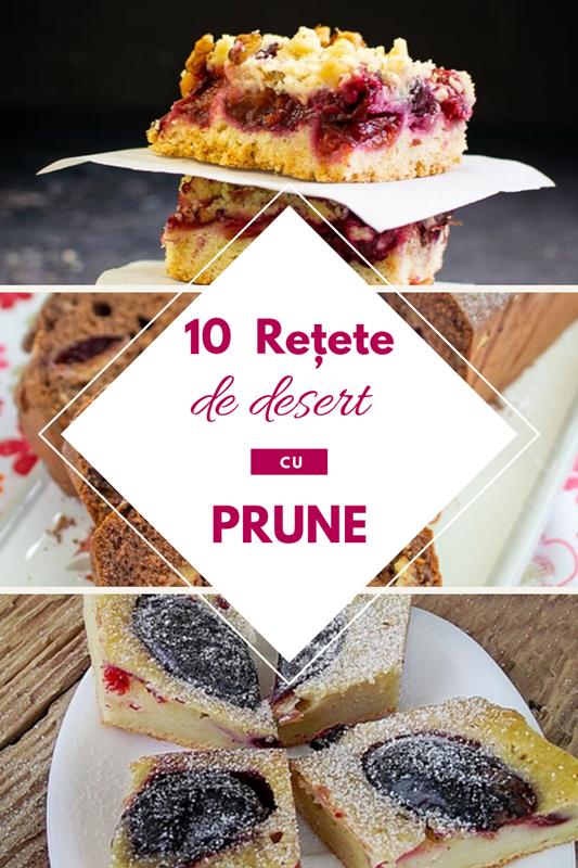 10 retete cu prune