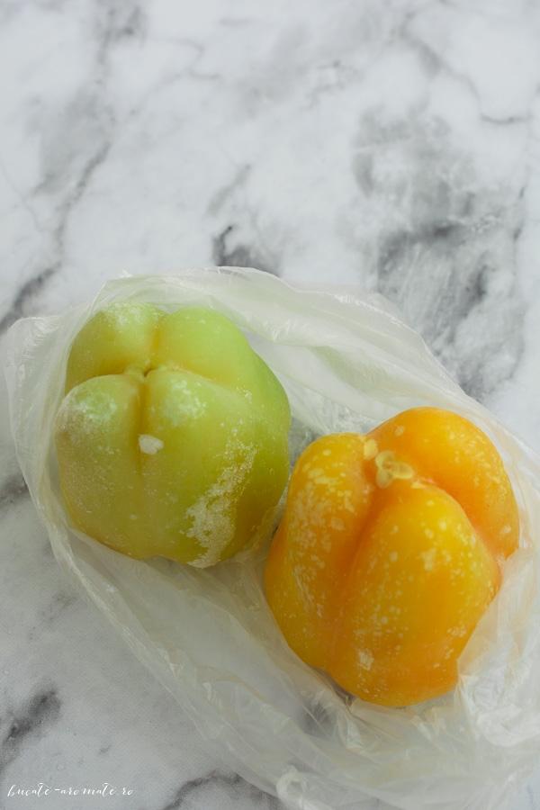 Ardei gras congelat