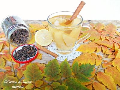 Compot aromat de gutui