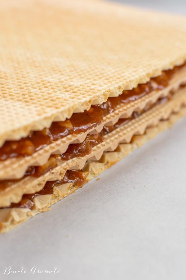 Cum se fac napolitanele cu cremă caramel