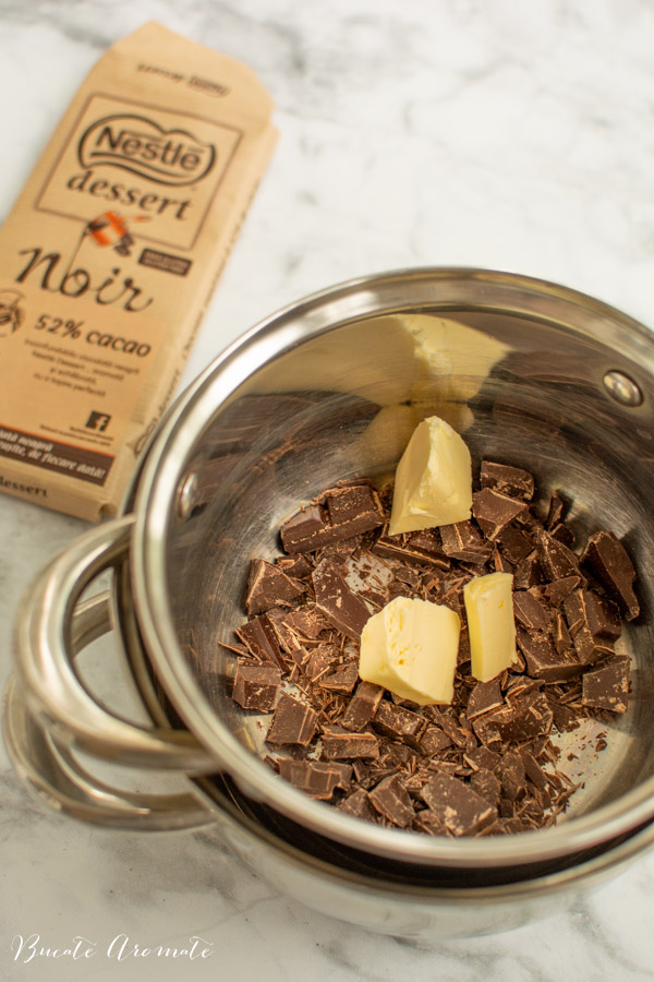 Ciocolata la bain marie