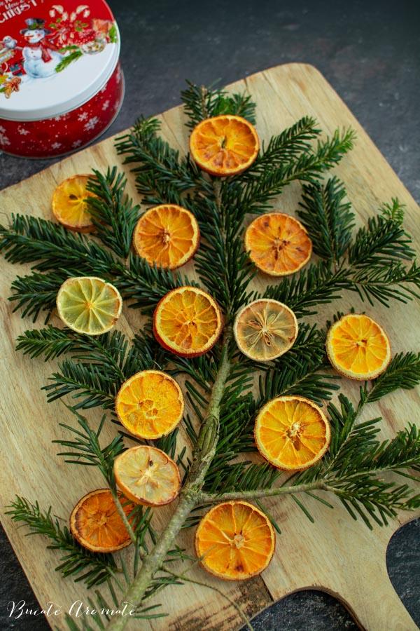 felii de portocale uscate