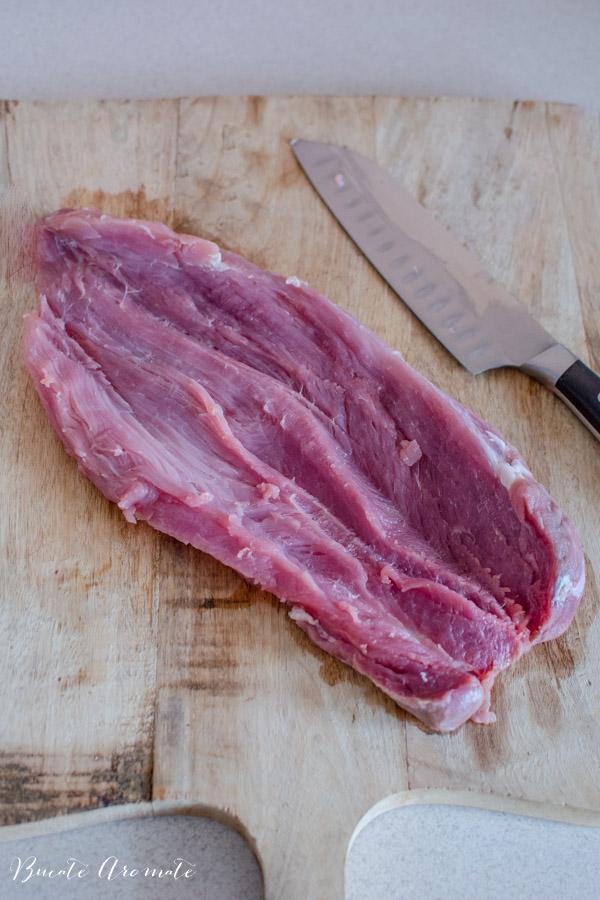Cum se taie muschiuletul de porc