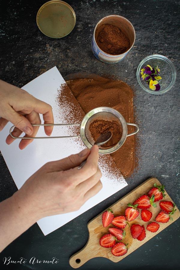 Prajitura pudrata cu cacao