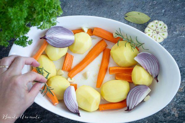legume în tavă