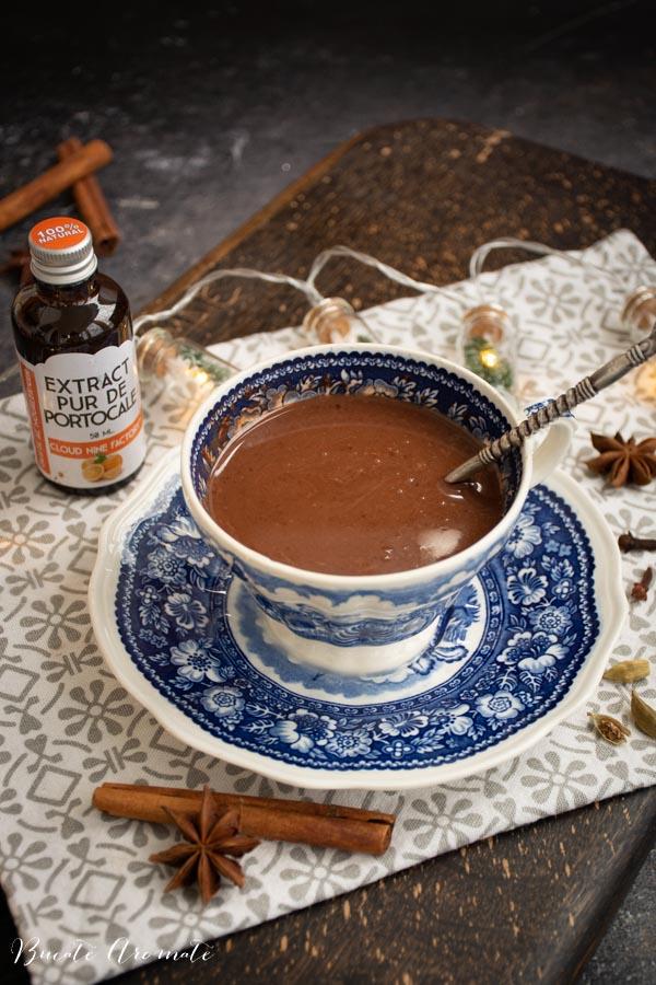 ciocolata calda de casa densa si cremoasa