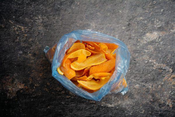 coji de portocale congelate