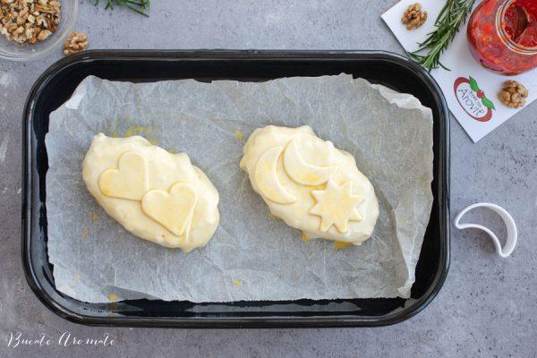 Brânză brie în tavă