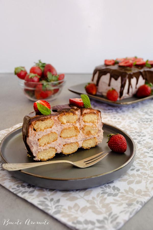 Prăjitură fără coacere cu mascarpone