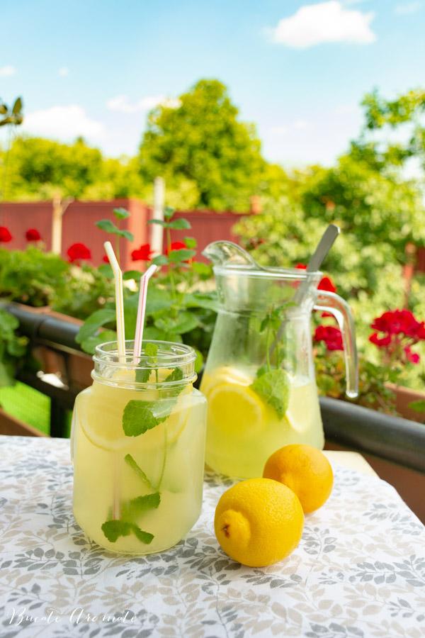 Rețeta simplă de limonadă