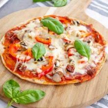 Pizza pe lipie libaneză