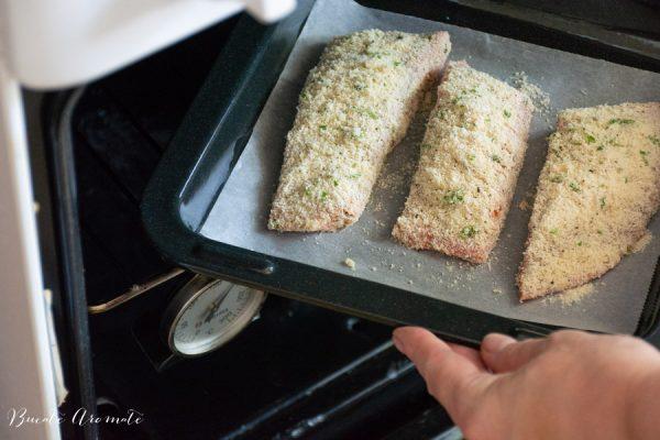 File de pește la cuptor